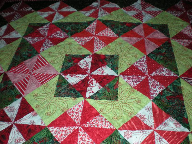 Peppermint Candy Table topper